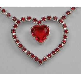 Svatební náhrdelník - 5801-0036 - S00 - Krystal - stříbro