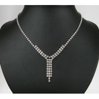 Svatební náhrdelník - 5801-0152 - C15 - Černá - černá
