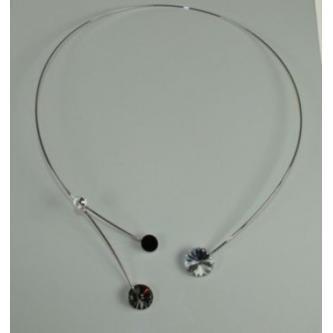 Svatební náhrdelník - 72097 - S00 - krystal