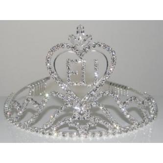Korunky miss - 5806-0048EU3 - S00 - Krystal - stříbro