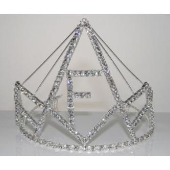 Korunky miss - 5806-0050F2 - S00 - Krystal - stříbro