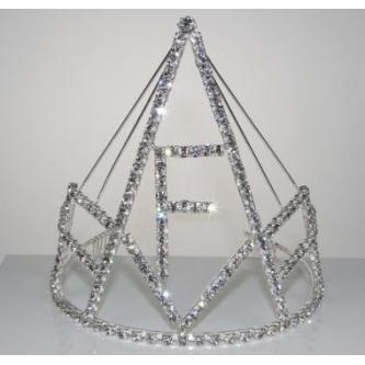 Korunky miss - 5806-0050F1 - S00 - Krystal - stříbro