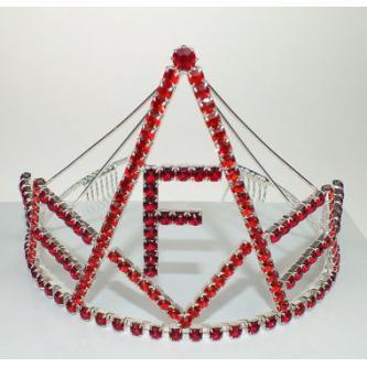 Korunky miss - 5806-0050F3 - S00 - Krystal - stříbro