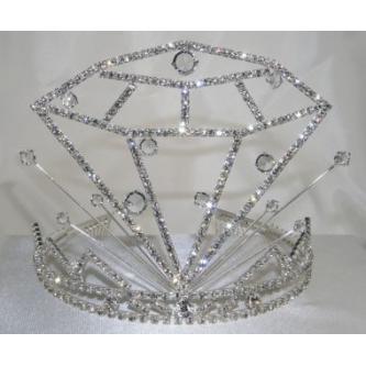 Korunky miss - 5806-0054D1 - S00 - Krystal - stříbro