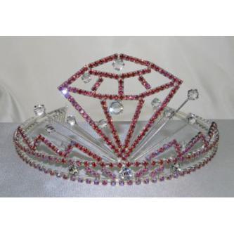 Korunky miss - 5806-0054D3 - S00 - Krystal - stříbro