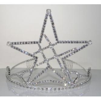 Korunky miss - 5806-0058 - S00 - Krystal - stříbro