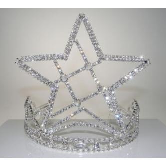 Korunky miss - 5806-0056 - S00 - Krystal - stříbro