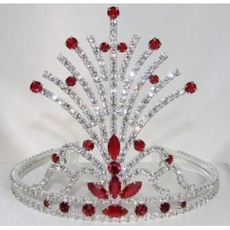 Korunky miss - 5806-0064 - S00 - Krystal - stříbro